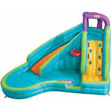 Outdoor Inflatable Kids Water Slide Backyard Summer Pool Swimming Play Fun