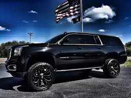 2016 GMC Yukon BLACK/BLACK CUSTOM LIFTED SLT 22