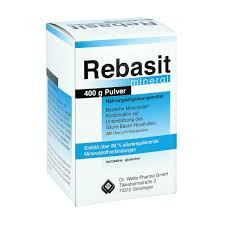 Rebasit Mineral Pulver 400g PZN 01032924 EBay