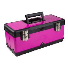 20″ Metal Tool Box – The Original Pink Box