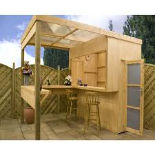 Wooden Patio Bar Ideas by Outdoor Bar With Storage Patio Outdoor Pinterest Storage