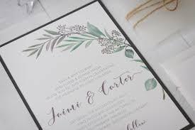 Rustic Tuscany Wedding Invitation