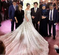 Most Decorated Russian Soldier Ever by Russian Oil Tycoon Ilkhom Shokirova U0027s Daughter Marries In Lavish