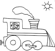 Coloriages Train Sur Le Pont à Colorier Frhellokidscom