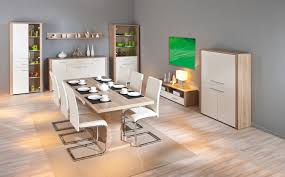 160x90 cm esstisch ausziehbarer küchentisch esszimmer absoluto10 eiche sonoma dekor