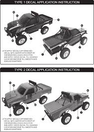 100 Toyota Truck Wiki Graupner Hilux Decal Application Instruction 6603 F Hilux