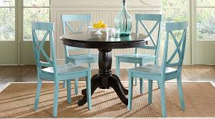 Brynwood Black 5 Pc Round Dining Set
