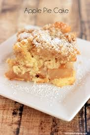 Apple Pie Cake Recipe