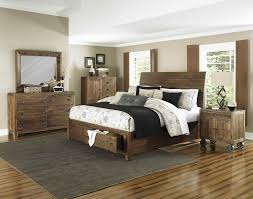 Bedroom Sets With Storage by Furniture River Road Island Bedroom Set With Storage Footboard In