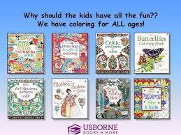 Usborne Coloring Books