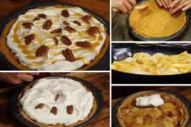 dessert aux pommes sans cuisson tarte sans cuisson d automne pomme poires et caramel la recette