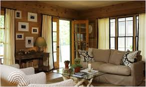 Living RoomClassic Room Idea Showing Rustic Decor Grey Traditional