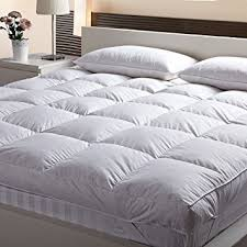 Buy Linenwalas Microfiber Customized Mattress Padding Topper for 5