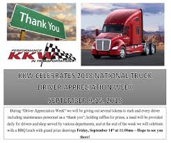 2018 Driver Appreciation Week Is Here! – KKW Trucking Inc Celebrating Drivers During Truck Driver Appreciation Week Sept 9 National Eagle Cadian On Twitter Its Enterprises Celebrates Shell Rotella Nz Trucking Tmaf To Launch Campaign Imagine Youtube Ats Game American Service One Transportation