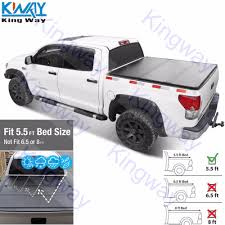 FREE SHIPPING King Way Hard Solid Tri Fold Tonneau Cover For 04 18 ...