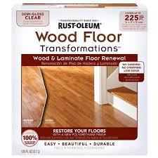 Bathtub Refinishing Kit Home Depot by Rust Oleum Transformations Floor Wood And Laminate Renewal Kit