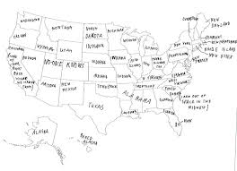 British People Naming US States
