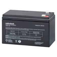12v 7ah lead acid alarm battery radioshack