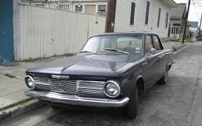 File 1965 Plymouth Valiant 100 black front Wikimedia mons