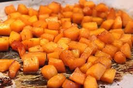 cuisiner le butternut butternut rôti au miel et aux épices pour ceux qui aiment cuisiner