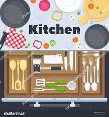 Full Size Of Kitchendrawn Stock Cook Taste Quality Restaurant Kitchen Clipart Food