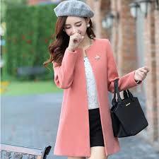 Coat Winter Jacket Women Casual Long Wool 2016 New Korean Fashion Large Size Womens