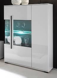 highboard design d in hochglanz weiß kommode 90 x 140 cm anrichte