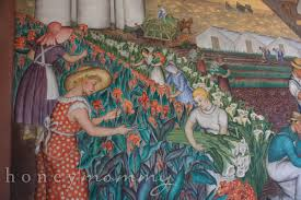 Coit Tower Murals Images by Honey Mommy San Francisco Sightseeing