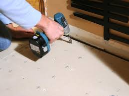 Tiling A Bathroom Floor On Concrete by Laying A New Tile Floor How Tos Diy