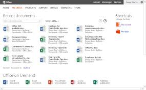 Microsoft fice 2013 is here Hands on impressions and ing