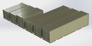 100 Shipping Container Model 40ft High Cube Shipping Container 3D In S 3DExport