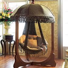 luxuriöse dekoration schlafzimmer massivholz hänge korb schaukeln für erwachsene drinnen