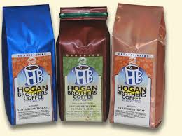Hogan Brothers Coffee Roasters In MA Fresh Roasted Beans Packaging Of