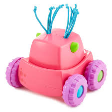 Amazon.com: Fisher-Price Press 'n Go Monster Truck, Pink: Toys & Games