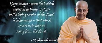 Radhanath Swami On The Spell Of Maya