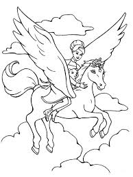 Printable 14 Winged Unicorn Coloring Pages 5930 And