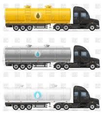 100 Tank Truck Truck For Liquid Transportation Cistern Truck Vector Image Of