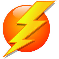 Free Lightning Bolt Graphics Hanslodge Clip Art Collection