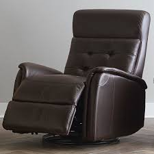 Tufted Back Glider Recliner