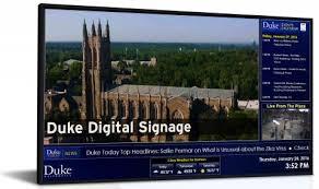 duke digital signage duke university oit