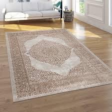teppich wohnzimmer modernes oriantalisches muster