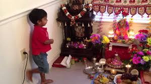 Varalakshmi Vratham Decoration Ideas In Tamil akshaj chanting some mantras on varalakshmi vratham day youtube