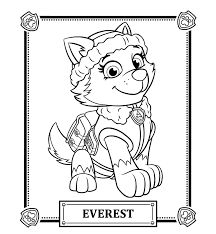 Best Free PAW Patrol Cartoon Coloring Pages Printable For Kids
