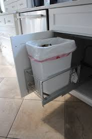 Under Cabinet Trash Can Holder by Cabinet Door Garbage Can Images Doors Design Ideas