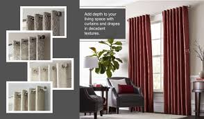 Allen Roth Curtain Rod Instructions by Shop Allen Roth Lapeer 84 In Shore Cotton Grommet Light