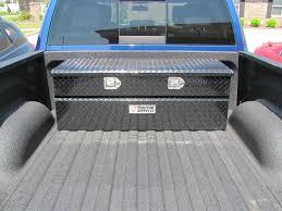 100 Truck Tool Boxes Black Diamond Plate Under Rail Box Flush Mount Box S