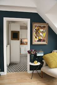 Navy Blue and Mustard Yellow Home Decor
