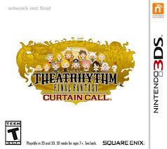 theatrhythm final fantasy curtain call nintendo 3ds square enix
