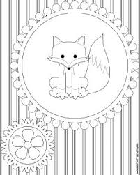 Dont Eat The Paste Fox And Owl Coloring Pages