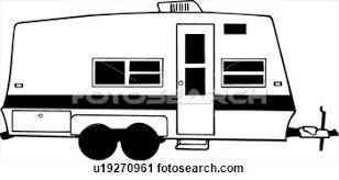 Rv Camping Clip Art
